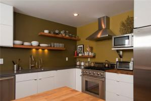家庭厨房橱柜图片欣赏