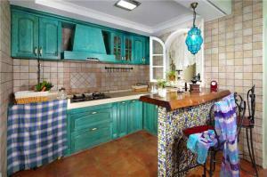 地中海小厨房橱柜