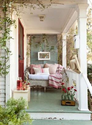 美式花园阳台装饰