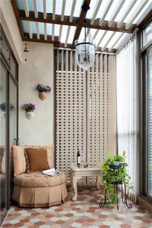 阳光房阳台改造效果图