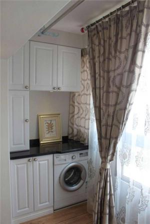 最新洗衣机放阳台效果图
