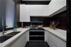 家庭厨房橱柜家具图片