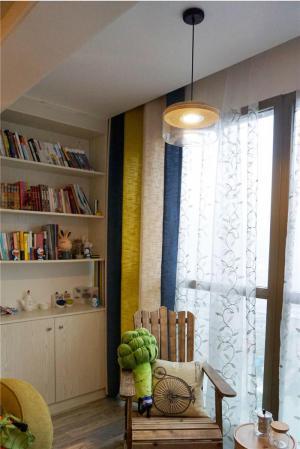有格调的小阳台改书房效果