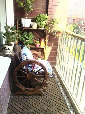 创意凳子阳台装饰
