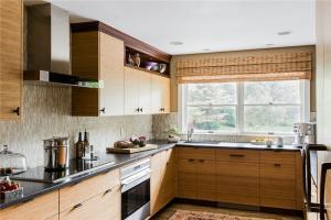 阳台家庭厨房橱柜