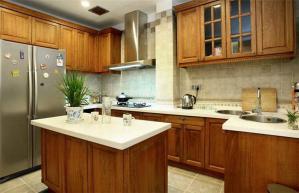 中式厨房整体橱柜