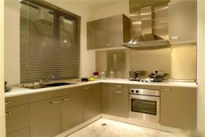 整体不锈钢厨房橱柜