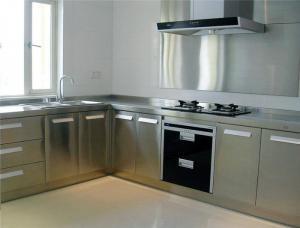 家装不锈钢厨房橱柜