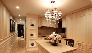 欧式开放式厨房橱柜