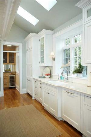 欧式厨房整体橱柜