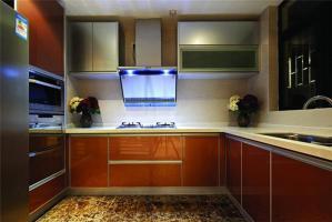 厨房整体橱柜图片