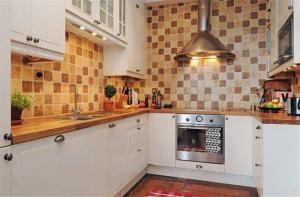 美式瓷砖厨柜
