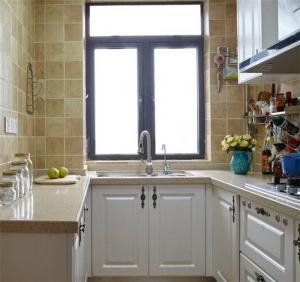 小户型瓷砖厨柜