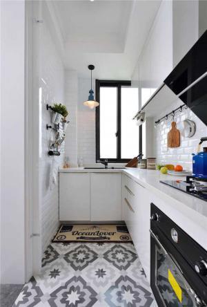 厨房小橱柜效果图