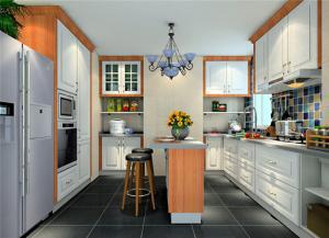 吧台式整体厨房橱柜