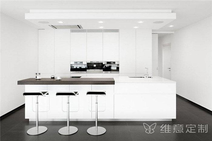 吧台开放式厨房橱柜
