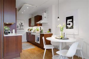 小户型开放式厨房橱柜