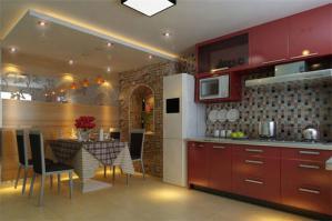 不锈钢厨房橱柜图片