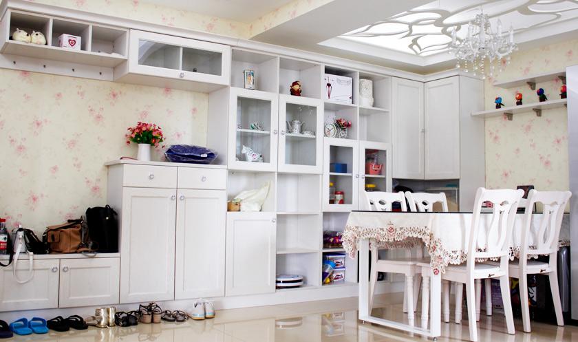 【空�g�U容案例】定制家具把家改造大,97�O�128�O