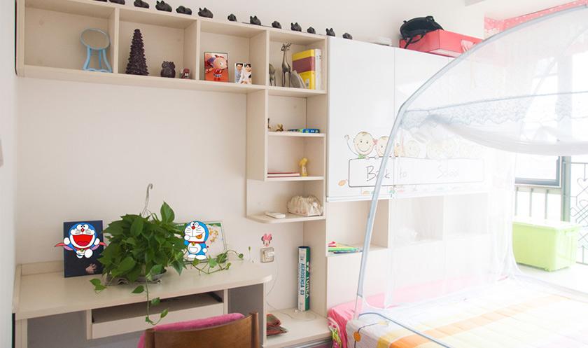 【卧室设计】挤出多功能卧室 小户型三代同堂卧室实拍