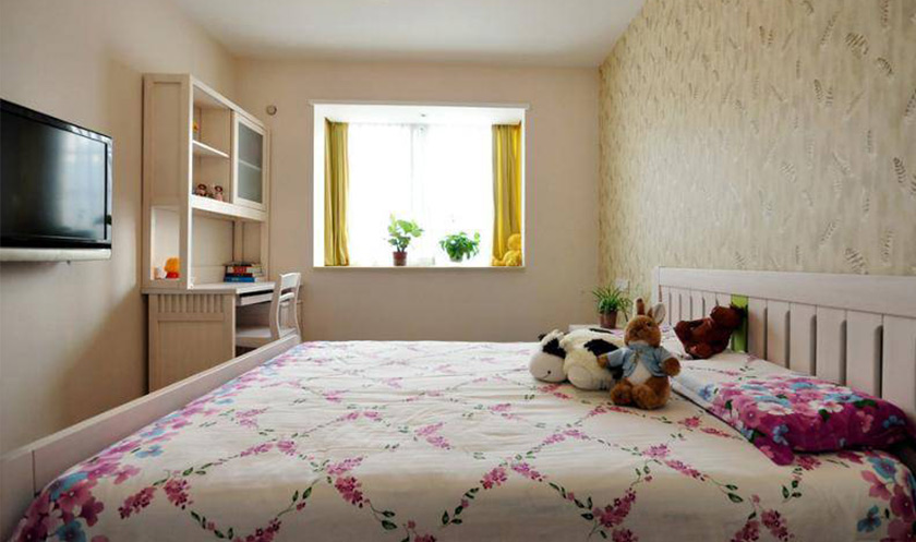 【卧室设计】原木色系卧室家具设计,居然这么实用!