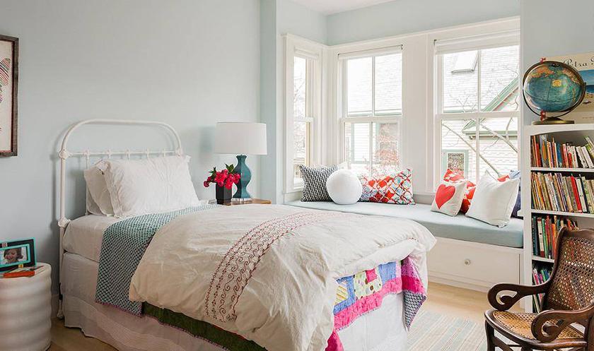 【儿童房设计】小户型儿童房设计,节省空间小天地