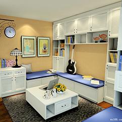 首页-美居-书房装修设计效果图