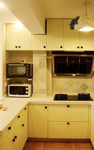 首页-美居-厨柜装修效果图