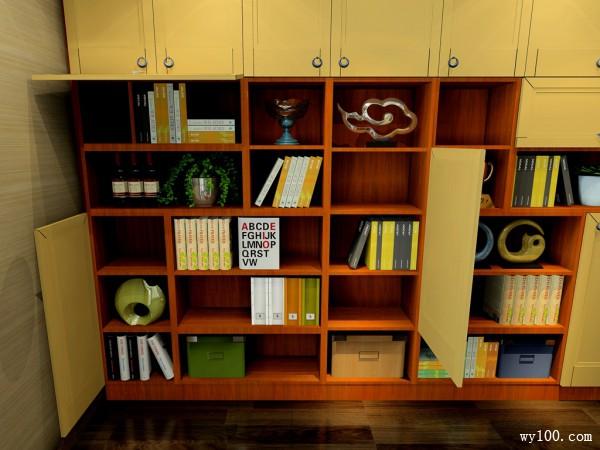 书柜装修效果图