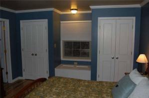 田园美式卧室衣柜