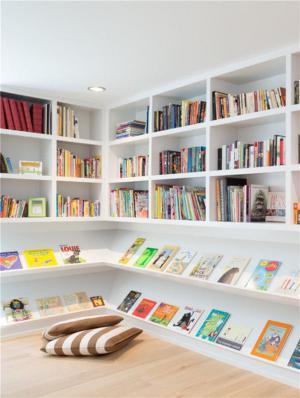儿童房定制书柜