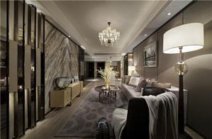 现代家装沙发背景墙