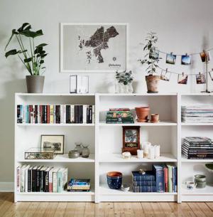billy创意矮书柜