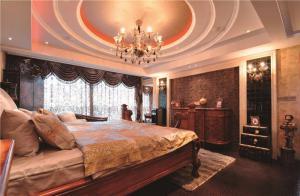 家装飘窗卧室设计