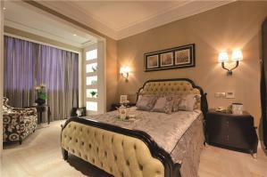 新古典飘窗卧室设计