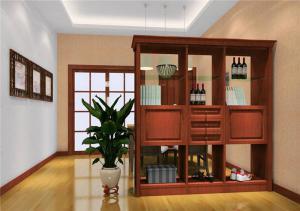 中式隔断柜装饰