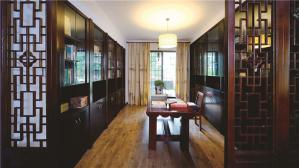 中式实木订做创意书柜