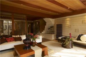 小户型实木客厅家具