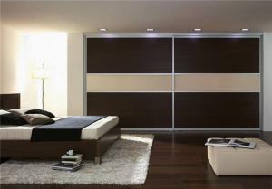 家居美式卧室衣柜
