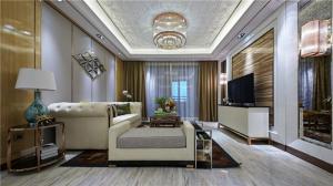 家装沙发背景墙维意设计师