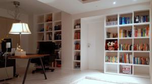 创意书柜背景墙