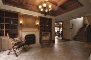 时尚实木客厅家具图片