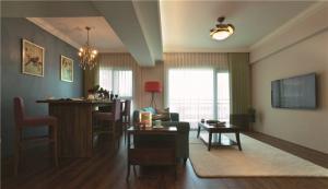 欧式奢华小客厅茶几图片