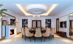 现代家庭餐桌