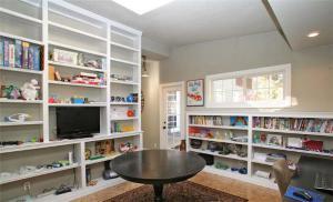 客厅矮书柜