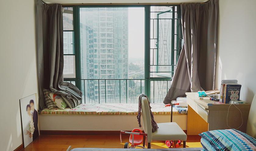 【卧室实拍】13平小卧室逆袭 收纳空间倍增